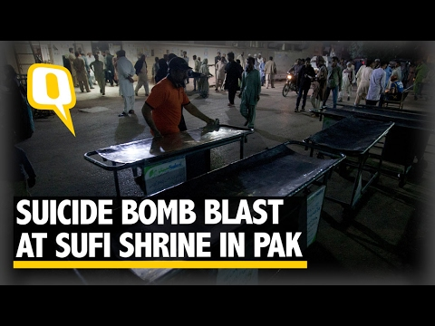 The Quint: Blast In Sufi Shrine In Pak Kills 72, ISIS Claims Responsibility