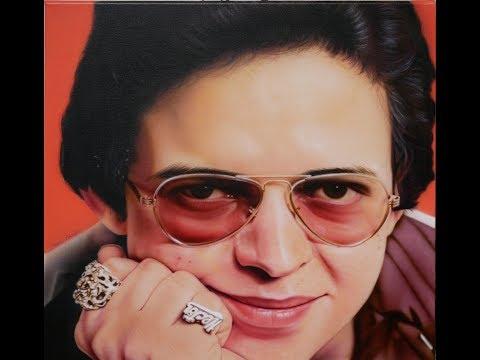 Steve Nunez paints salsa legend, 'Hector Lavoe' on canvas