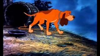 Лис и охотничий пёс - Друзья