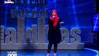10 Sissumey Vanee Bunan - Mariyam Ifa (2011) Voice of Maldives Season 2. Show 1. 2011