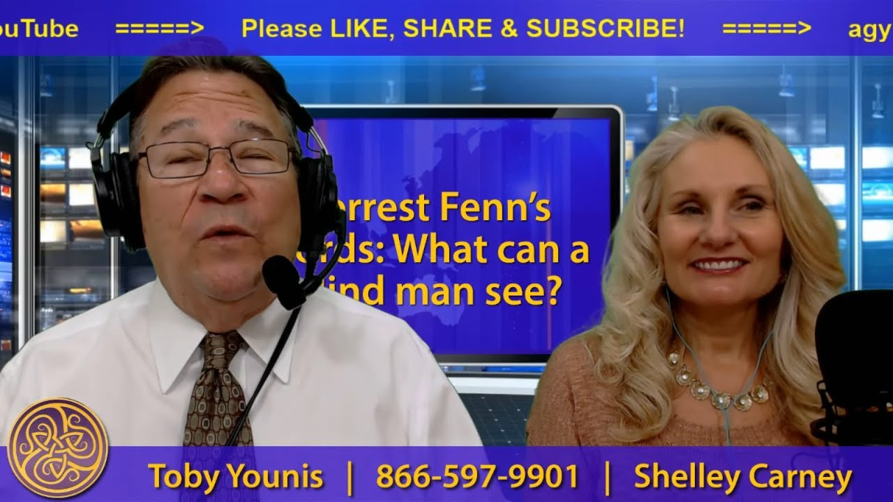 Finding Forrest Fenn: Can a blind man see?