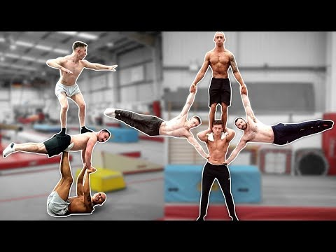 MEN'S GYMNASTS TRY 'EXTREME YOGA CHALLENGE' thumbnail