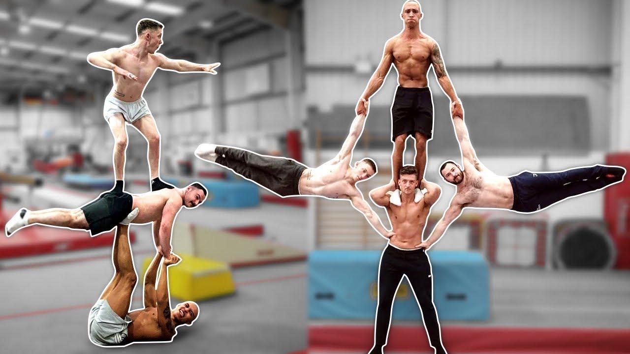 men-s-gymnasts-try-extreme-yoga-challenge