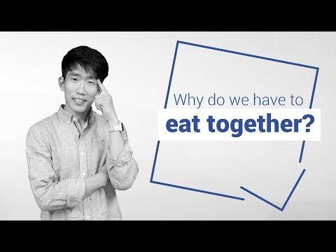 Eating alone vs. together in Korea - Culture Talk