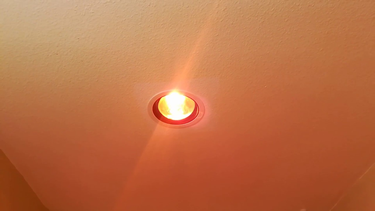 Warm Things Up In The Bathroom Easy To Install Heat Lamp Flood Light Bulb Perfect Solution
