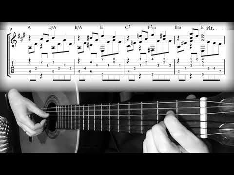 Somewhere in My Memory Home Alone  John Williams for Solo Guitar