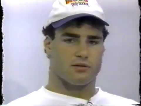 Philadelphia Flyers Lindros Phone Number Interview NHL 3rd Season 1994-95 goals 1 2 3 4 Prism