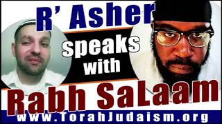 Rabbi Asher speaks with Rabh Salaam