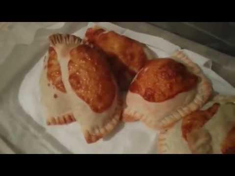 Чебуреки запеченые в духовке