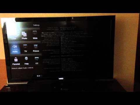 Vizio 55 inch TV issue