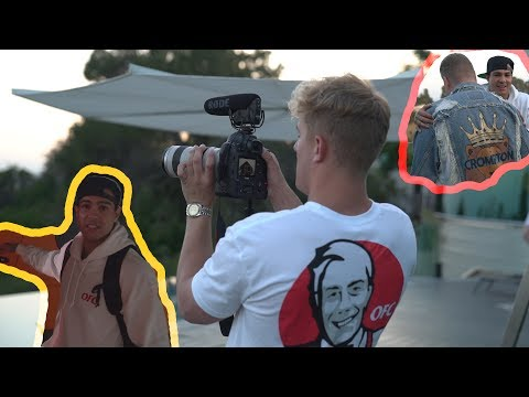 Behind The Scenes - It's Everyday Bro feat. Jake Paul & Team 10 | Ray Diaz