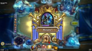 Hearthstone - Solo Adventure - Paladin vs The Lich King
