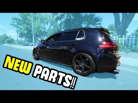 SUSPENSION AND POWER MODS FOR THE MK7?!
