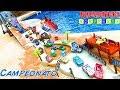 CORREDORES DE PLAYA  BEACH DUEL Disney pixar Cars 3 Carros de Carrera para niños - Pista de Coches