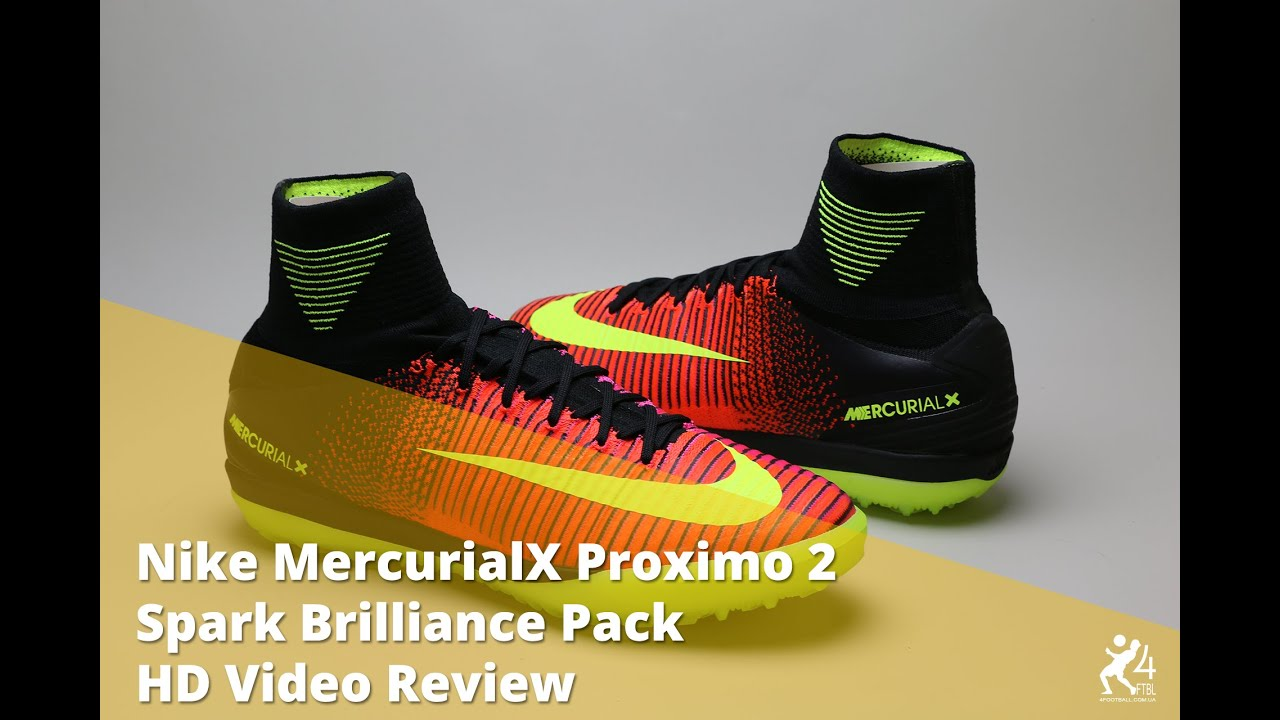 dd35627f Сороконожки Nike MercurialX Proximo 2 TF - Cherry, 831977 870 - YouTube