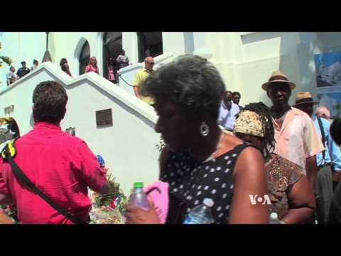 Worshippers Attend Emanuel AME's First Service Since Shooting