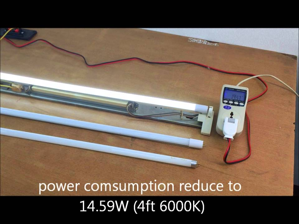 Compatible ballast T5 LED Tube Light No Wiring  YouTube