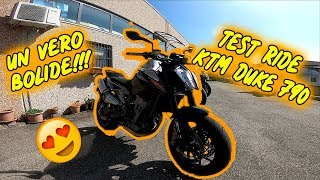 KTM DUKE 790 TEST RIDE | LA MOTO DEFINITIVA