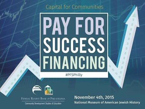 Capital for Communities: Pay for Success Conference