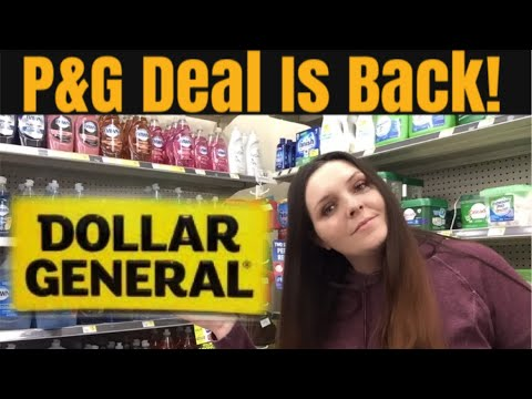 It's Back! P&G Spend $15 Get $5 At Dollar General