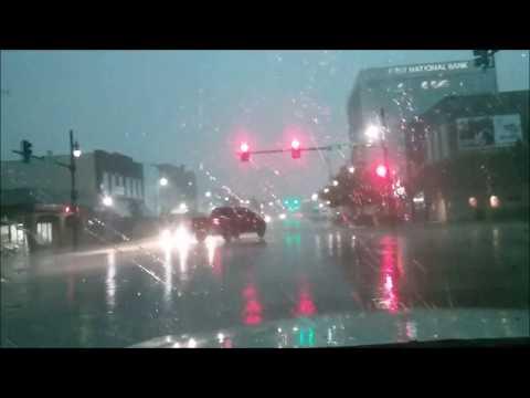 Storm in Hutchinson, Kansas - June 2017