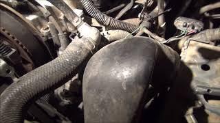 замена свечей накала в двигателе 4D56 mitsubishi pajero sport, L200