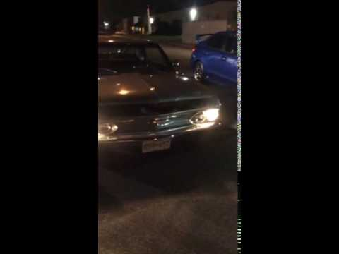 Corvair front engine prank !