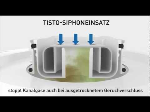 geruchsverschluss beim bodenablauf tistoprimus youtube