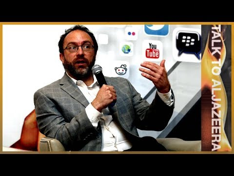 🇺🇲 Jimmy Wales: Fake news, WikiTribune and the future of journalism | Talk to Al Jazeera
