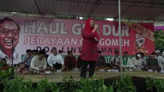Video Orasi Yenny Wahid pada Haul Gus Dur download MP3, 3GP, MP4, WEBM, AVI, FLV September 2018
