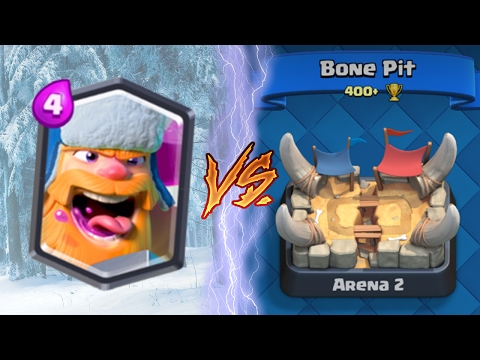 Clash Royale   LUMBERJACK TROLLING ARENA 2!  TROLL VS TROLL (Drop Trolling #9)