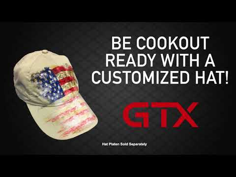 Customized hats with GTX are a breeze!