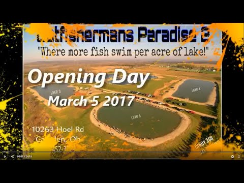 catfishermans paradise opening day 2017 from YouTube · High Definition · Duration:  24 minutes 19 seconds  · 11,000+ views · uploaded on 3/6/2017 · uploaded by WILD BILL CATFISHERMAN