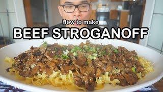 How to make BEEF STROGANOFF