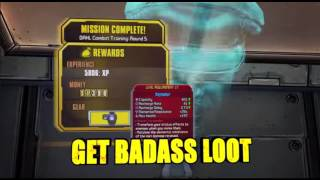 Borderlands: The PreSequel Preorder Bonus- Shock Drop Pit Slaughter and the Haymaker (I CALLED IT)