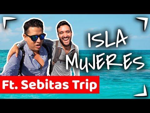 Isla Mujeres Tour Ft SEBITASTRIP 🔴 Tour PRIVADO de snorkel MARIO ► Que hacer en CANCUN SEBITAS TRIP
