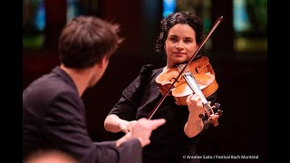 Telemann Concerto for viola and orchestra- II-Allegro- Marina Thibeault & OSA