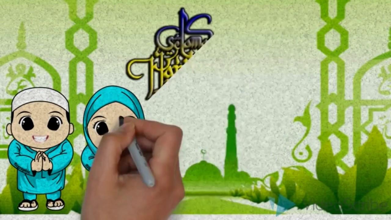 Ucapan Selamat Hari Raya Idul Fitri 2017 Youtube