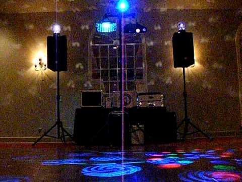 Rockin Robins DJs, Memphis, Dance Floor Lights 2