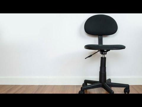 C mo tapizar una silla giratoria bricomania youtube - Tapizar una silla ...