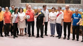 World Cup Spirit at the United Nations