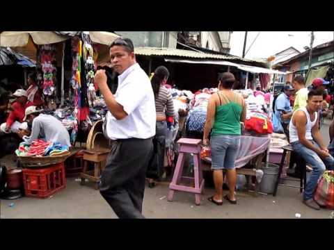Shopping in the market in Granada, Nicaragua