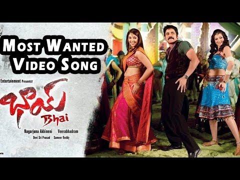 Most Wanted Video Song || Bhai Video Songs || Nagarjuna, Richa Gangopadyaya