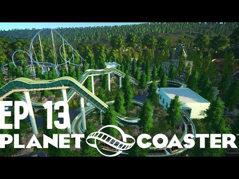 Planet Coaster - Let's Build A Vintage Park - Episode 13 |