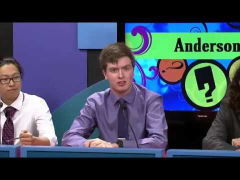 Anderson vs Zionsville - April 16, 2016 - Westfield Insurance Brain Game