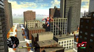Spiderman Web Of Shadows PC gameplay max settings