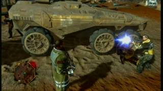 XBox 360: Red Faction Guerrilla gameplay HD