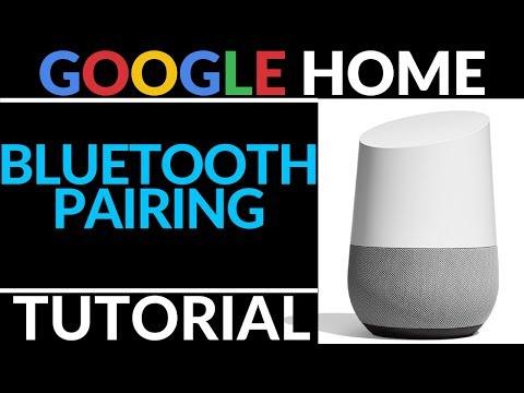 How to Stream Music to Your Google Home Over Bluetooth - Google Home Tutorial