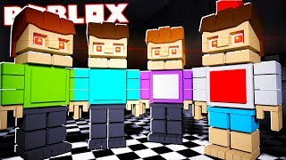 THE PALS BECOME FNAF ANIMATRONICS IN ROBLOX!