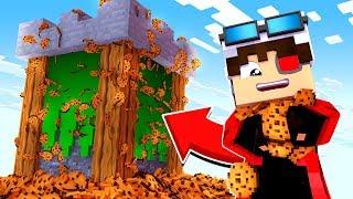 НОВЫЙ РЕЖИМ! СТРОИМ БАШНИ ЗА ПЕЧЕНЬЕ! БИТВА ПЕЧЕННЫХ БАШЕН! Minecraft